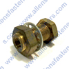 BRASS BULKHEAD ANCHOR CONNECTOR.