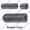 A4439 RUBBER VACUUM CAP 1/4 TUBE O.D.,BLACK IN COLOR,9/16 INSIDE LENGTH.(SPECIAL HEAT RESISTANT EPDM RUBBER).