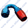 FRAGOLA 150* HOSE ENDS,THEY ARE RED AND BLUE IN COLOR.