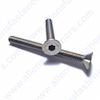 1/4-28 FLAT HEAD ALLEN BOLTS,18-8 STAINLESS STEEL,BOLTS ARE FULLY THREADED UNLESS NOTED.