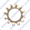 STAINLESS STEEL EXTERNAL TOOTH WASHERS,18-8 STAINLESS STEEL.