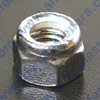 CHROME METRIC NYLOC NUTS FINE THREAD,8.8,CHROME PLATED AND WRENCHING/HEX SIZE IS LISTED.