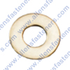 STAINLESS STEEL SAE FLAT WASHERS,18-8 STAINLESS STEEL,O.D. SIZE IS LISTED + OR - .005.